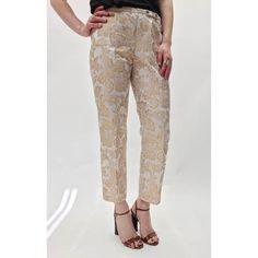 Dolce & Gabbana Floral Jacquard Pants (4)