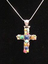 Sterling silver cross pendant SOLD