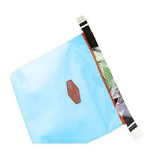 TowallmarkTMPortable Warm Heat Insulation Neoprene Convenient Lunch Outdoor Food Insulated Pouch Cooler Waterproof Food Storage Bag Blue * This is an Amazon Affiliate link. Click image to review more details.