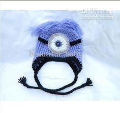 Wholesale Children's Caps & Hats - Buy Baby Hat Despicable Me Minion Hat Beanie Girl Boy Yellow Purple, $4.34 | DHgate