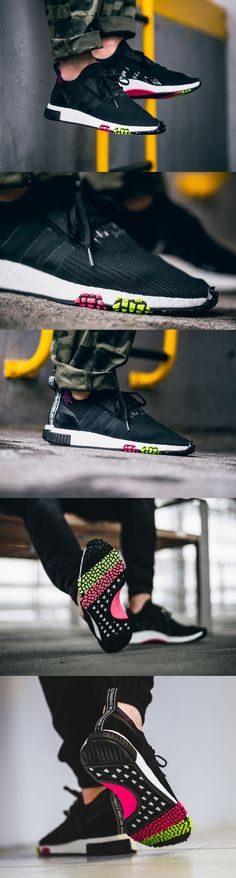 #Adidas #NMD #Racer #Primeknit #Core #Black