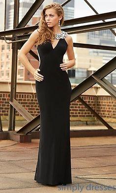 Floor Length Madison James Prom Dress at SimplyDresses.com