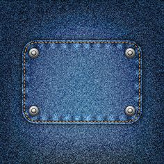 Jeans Fabric Vector Backgrounds Art 01