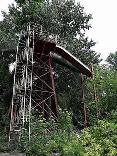 Abandoned amusement park, Japan
