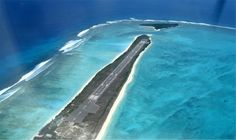 Not the world's best airport, but a scenic beauty.. Agatti Airport, Lakshadweep Islands ... Incredible India