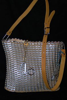Adjustable leather handle- cross body or shoulder purse with leather bottom and fully lined.