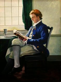 Jefferson's repite by Pamela Patrick White living in Everett (Pennsylvania), USA