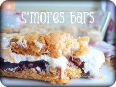 S'mores Bars on Mandy's Recipe Box.