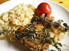 鶏のハーブソテー&炒飯プレート
