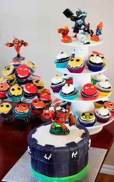 skylanders cake | Skylanders Cake & CupcakesChocolate & Mocha Cake & Chocolate ...
