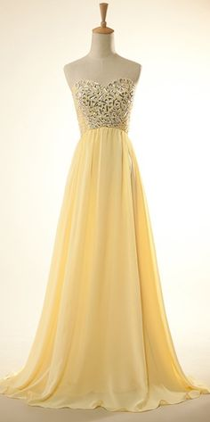 Sweetheart Prom Dress - Go bright and bold on your big night!