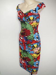 Retro Marvel Dress