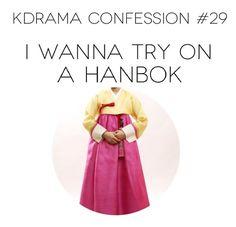 Kdrama confessions