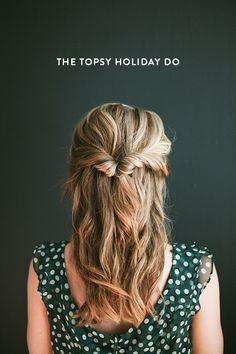The topsy holiday do (via Bloglovin.com )