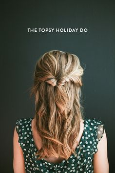 The topsy holiday do (via Bloglovin.com )