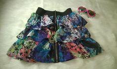 My Sister's Treasures Girls Galaxy Ruffle Tier Skirt, 12 #MySistersTreasures #Ruffle #DressyEverydayHoliday