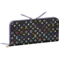 Louis Vuitton Monogram Multicolore Insolite Wallet M60271 Awc,$178