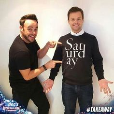 Declan Donnelly, Ant & Dec, Ants, Judges, Random, Ant, Casual