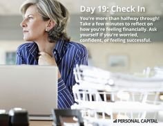Personal Capital's 30 Day Money Cleanse DAY 19: How are you feeling 2/3 of the way there?
