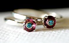 SALE 50% OFF gemstone ring. gemstone jewelry. sterling silver ring. garnet ring. apatite ring. birthstone sterling ring. stacking ring.  by Eklektisch on Etsy https://www.etsy.com/listing/91011728/sale-50-off-gemstone-ring-gemstone