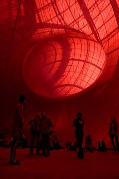 Anish  Kapoor - Leviathan - au Grand Palais - Paris - France - 2011