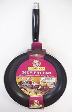 "Cookinex Aluminum Non Stick Fry Pan - 10.2"""" Case Pack 12"
