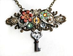steampunk sky pirate necklace!