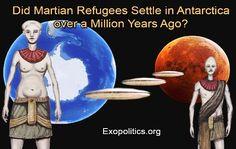Disso Voce Sabia?: Refugiados de Marte migraram para Antártica há mai...