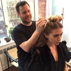 Behind-The-Scenes: Mary Kate And Ashley Olsen Get Ready For The Met Gala #style #fashion #beauty #hairinspiration #olsentwins