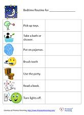 Charts for kids - morning routine, bedtime routine, chores and more!