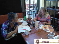 Chatting. http://www.TheEbookAcademy.com