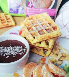 Éhezésmentes karcsúság Szafival - Paleo gofri Healthy Foods, Healthy Recipes, Waffles, Recipies, Paleo, Breakfast, Healthy Food, Health Recipes, Recipes