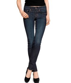 Slim Regular Jeans (H), with the high waist and dark wash, these jeans can easily be dressed up or down. Pair with an IWB behind the hip and your favorite converse sneakers or pair of heels.