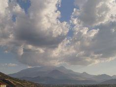 Erciyes Dağı ve Bulutlar