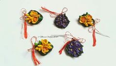 March brooches by Maria Oroian