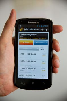 Have you heard about #Lenovo smarthpones? Mobile Worker application for time tracking works perfect on Lenovo A800. #Android