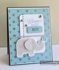 Beautiful Baby, Beautiful Baby Die-namics, Blueprints 14 Die-namics, Starry Night Stencil - Melody Rupple #mftstamps Baby Boy Cards Handmade, New Baby Cards, Greeting Cards Handmade, Envelopes, Welcome Baby Boys, Ideas Para Organizar, Beautiful Handmade Cards, Marianne Design, Baby Shower Cards
