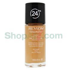 Revlon Colorstay   สี 370 Toast SPF 15 30 ml. รายละเอียด Revlon Colorstay   สี…