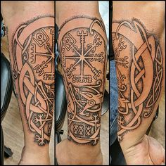 Work in progress. #vegvisir #Lásabrjótur #icelandic #Icela… | Flickr