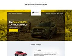 "Check out new work on my @Behance portfolio: ""Renault redesign website"" http://be.net/gallery/45756501/Renault-redesign-website"
