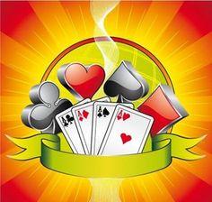 Gambling illustration with casino symbols, cards and ribbon Gambling Games, Gambling Quotes, Casino Games, Playstation Plus, Gambling Machines, Poker Chips, Slot Machine, Online Casino, Party Themes