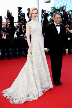 "Nicole Kidman in Valentino Couture, 2013 - ""This is the ultimate fairytale couture gown done in a totally modern way. Every woman can relate to that dress because they want to wear something like it at some point in their lives. And Nicole just carries it beautifully."""