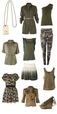 Military style - Fall trend 2013