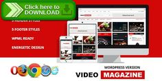 [ThemeForest]Free nulled download Video Magazine - WordPress Magazine Theme from http://zippyfile.download/f.php?id=35129 Tags: clean magazine, dailymotion, fashion, flat, gags, gallery, magazine, movies, music, news, upload, video, video magazine, vimeo, youtube