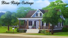 This is for djavanadon, who requested a small, cozy cottage that was expandable. They also mentioned a basement, so this one has a spacious extra room and bathroom downstairs, with its own private...