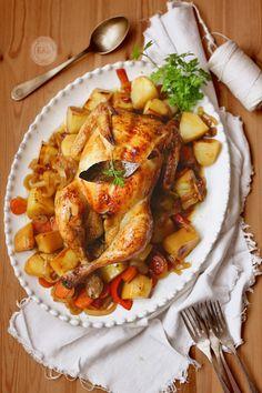 Kanela y Limón: Pollo asado con patatas