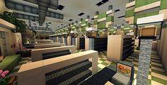 SuperMarket Minecraft building ideas shopping 3