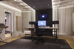 Acoustic Design, Acoustic Panels, Studios, Flat Screen, Conference Room, Architecture, Interior, Table, Inspiration