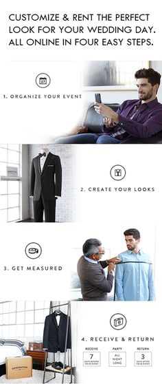 Generation Tux has reinvented the black tie experience. We took the time to create the sharpest, best fitting tux and suit rental collection available. All rentals are done online in just four easy steps for $95. Delivered free to your door with guaranteed fit.