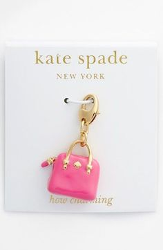 kate+spade+new+york+'how+charming'+novelty+charm+available+at+#Nordstrom